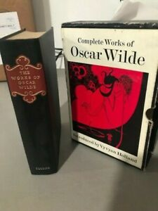 Complete Works of Oscar Wilde by Oscar Wilde 1970, Hardcover Vyvyan Holland
