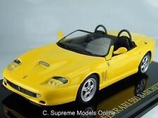 FERRARI BARCHETTA MODEL CAR 1/43RD SCALE PACKAGED ITALIAN SPORTS ISSUE K8967Q~#~