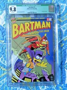Bartman #3 Signed by Bill Morrison & Phil Ortiz CGC 9.8
