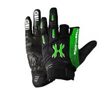 Hk Army Pro Gloves Slime neon green Black paintball gloves New - M Med Medium