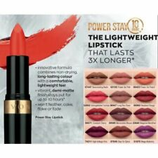 Avon Power Stay Lipstick, new and sealed, various shades