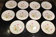 """11 Mikasa Stratford SUMMER MELODY L9008 Bread and Butter Plate 6 3/4"""""""
