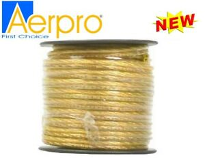 Aerpro 20GA Speaker Cable 39M Cable Roll Yellow APW940YL- NEW