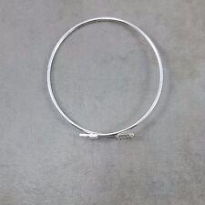 Silver Arrow Bracelet Simple simplistic Bangle Flying Arrow Trendy Fashion