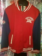 361 Degrees Men's Letterman jacket button up 3xl. New with tags