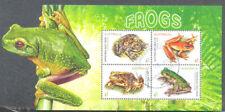 Australia-Frogs Min sheet 2018 fine used cto
