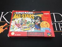 Super Mario All Stars - Super Nintendo Entertainment System (TESTED) UK PAL
