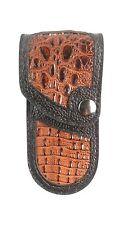 REAL HORN LIZARD SKIN knife sheath only buck 110, case 6265 Handmade BUCKTOOL