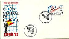 SOBRE PRIMER DÍA. COPA MUNIAL DE FUTBOL. 1982