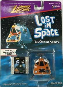 Vintage Johnny Lightning Lost in Space THE CLASSIC SERIES Space Pod w Clip #30