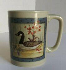 Otagiri Japan Ceramic Cup / Mug. Canadian Goose Portrait Image.