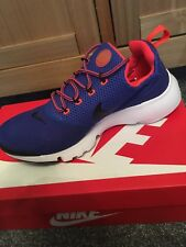 Nike Presto Fly UK Size 9 EUR 44 Men's Shoes Trainers Running Blue