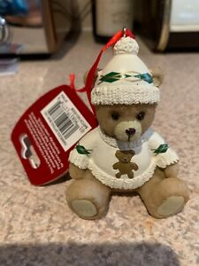 Harrods Resin Bear 2021 Angus New With Tags Christmas Tree Decoration