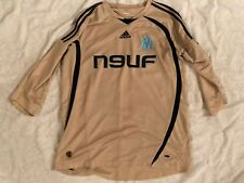 MAILLOT  OR RARE OM MARSEILLE SHIRT JERSEY TRIKOT FRANCE *