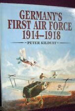 BOOK  MILITARY GERMANY'S FIRST AIR FORCE 1914-1918 160 PAGES ILLUSTRATED WAR