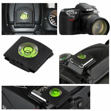 DSLR Camera Bubble Spirit Level Hot Shoe Protector Cover Cap 2x for Nikon Canon