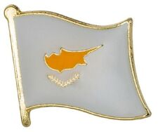 Cyprus Flag Pin Lapel Badge RO Cyprus Cypriot High Quality Gloss Enamel