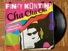 """FINZY KONTINI """"Cha Cha Cha / Bass And Drums"""" 45 Tours SP"""