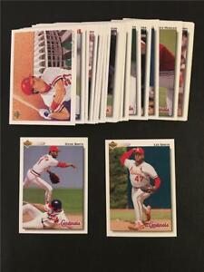 1992 Upper Deck St. Louis Cardinals Team Set 31 Cards