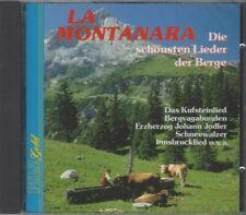 V/A La Montanara - CD, Uschi Bauer, Roland Steinel, Mondschein-Trio, u.v.m.