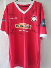 Wales Masters 2009 Squad Signed Home Football Shirt COA /11025