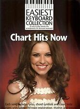 Easiest Keyboard Collection: Chart Hits Now. Sheet Music for Melody Line, Lyrics