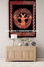 Indisch Handgemachte Baumwoll Keltisch Wurf Böhmische Hippie Plakat Wand Hängend