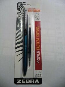 Sarasa Grand Retractable Gel Pen👍 FREE REFIL 🛑 Fine 0.7Mm Black Ink teal Bar
