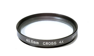 40.5mm High Quality Glass Kood Star 4 Filter Made in Japan 4 Point 4PT