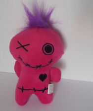 Adorable! plush voodoo doll Halloween toy favor pink