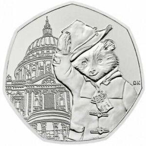 Paddington Bear 50p Coin Official Royal Mint at St Pauls Cathedral Licensed Pack