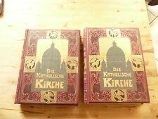 livres die katholische kirche 1904 et 1907 en allemand