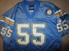 Junior Seau 2000 San Diego LA Chargers NFL Adidas Football Jersey LG L