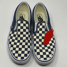 Vans Classic Slip-On Checkerboard Grisaille Men's Sz 11 VN0A38F7ULK