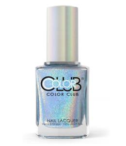 Color Club Halo Hues Holographic Nail Polish 15ml - Blue Heaven - 979
