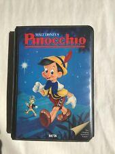 Pinocchio BETA, 1985 A Masterpiece of Fantasy Very Good Condition