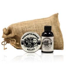 Mountaineer Brand® 100% Natural: Heavy Duty Balm & WV Timber Beard Oil Combo