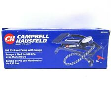 Campbell Hausfeld Foot Operated Air Pump Inflator 100 psi With Gauge New