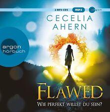 CECILIA AHERN - FLAWED - WIE PERFEKT WILLST DU SEIN?  2 MP3 CD NEU