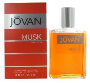JOVAN MUSK * Coty 8.0 oz / 236 ml After Shave Men Cologne Splash