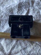 More details for black bush dac 90 2 pin vintage radio bakelite mains plug - 13
