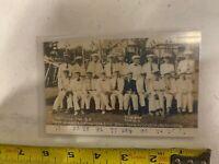 Vintage Old Men Baseball Players Photo Post Card 3/4 Century Club Oldest 102