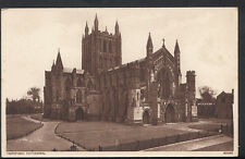 Herefordshire Postcard - Hereford Cathedral    RS4094