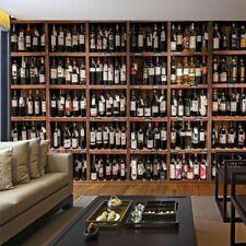 Wine Art Wallpapers Living Room Walls Covering Elitis Luxury 3D Wallpaper