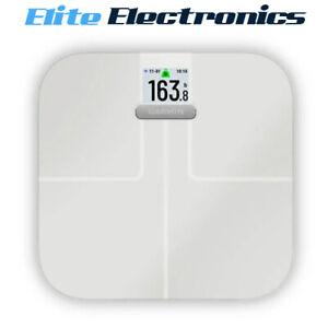 Garmin Index S2 Fitness Smart Wi-Fi Bluetooth BMI Scale White 010-02294-13