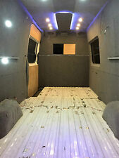 mercedes sprinter, vw crafter, interior conversion, campervan, day van, band van