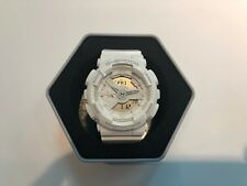 **BRAND NEW** CASIO G-SHOCK S SERIES ANA-DIGI ALL WHITE GMAS110CM-7A1 NIB!