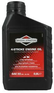 Genuine Briggs & Stratton, 4 Stroke Oil, SAE 30 - 600ml, 0.6 Litre - 100005