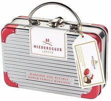 (100g=6,25€) Niederegger Koffer - Gefüllt mit Marzipan Pralinen Spezialitäten