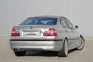 Genuine AC Schnitzer rear skirt for BMW 3 series E46 saloon. 511246140
